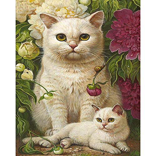 Obert FieldinCat Diamond Painting Kit for Adults,5D Diamond Painting Full Drill Bird Diamond Embroidery Pictures Arts Craft Home Wall ()