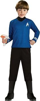 Generique - Disfraz capitán Spock Star Trek niño 5 a 6 años ...