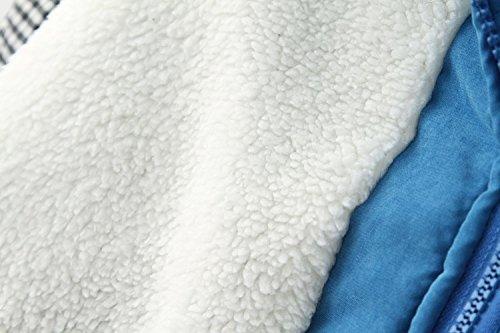 Luckycat Abrigo Invierno Mujer, Chaqueta de Las Mujeres Encapuchada Invierno Abrigo de Talla Larga: Amazon.es: Ropa y accesorios
