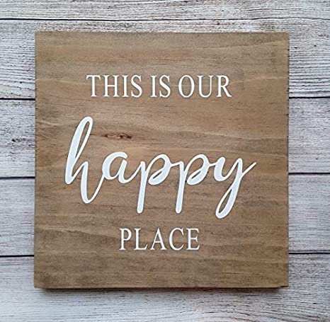Amazon.com: Vontuxe This is Our Happy Place - Cartel de ...
