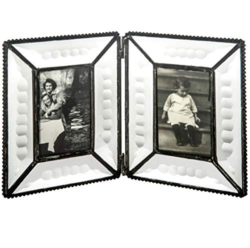 Buy J Devlin Pic 100-2 Clear Beveled Glass Double Picture Frame ...