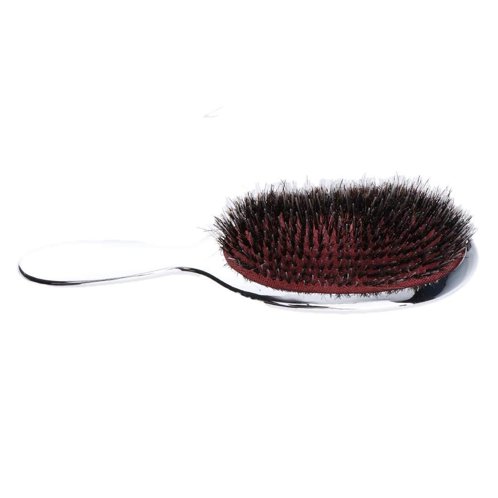 B Blesiya Peine de Pelo Desenredar Cepillo Alisador de Pelo Masajeador Pincel Peluquería de Salón - Astilla: Amazon.es: Belleza