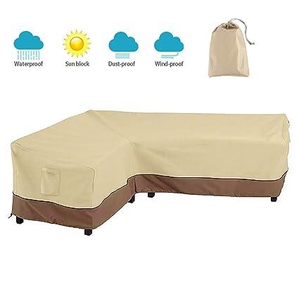 Amazon.com: BullStar - Funda para muebles seccionales de ...