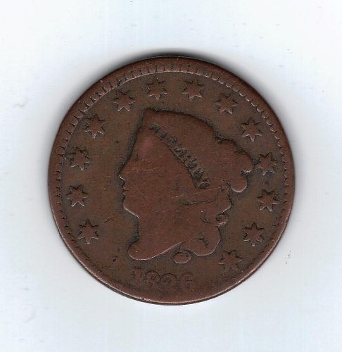 Review 1826 Coronet Large Cent