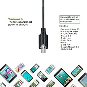 Samsung Galaxy S III mini Value Edition 2.1A Vehicle Charger with Dual USB Output and Touch LED Flash-Light!