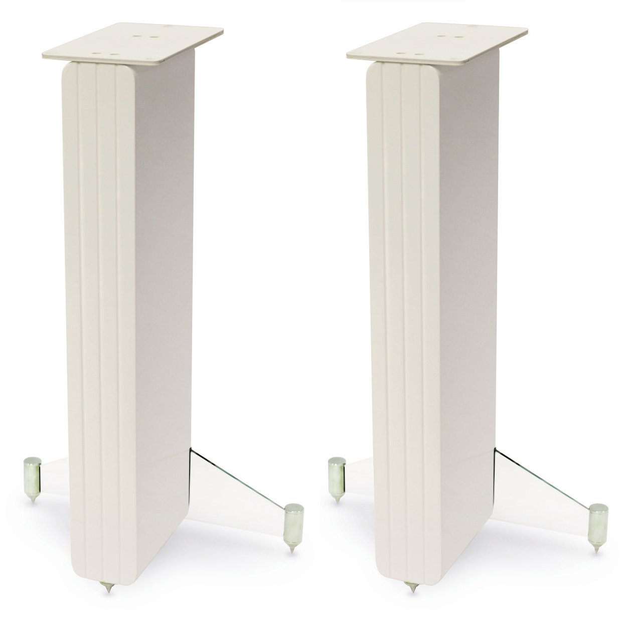 Q Acoustic Concept 20 Gloss White Speaker Stand Pair