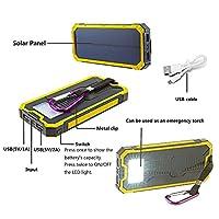 Solar Chargers 30,000mAh, LMS Portable D...