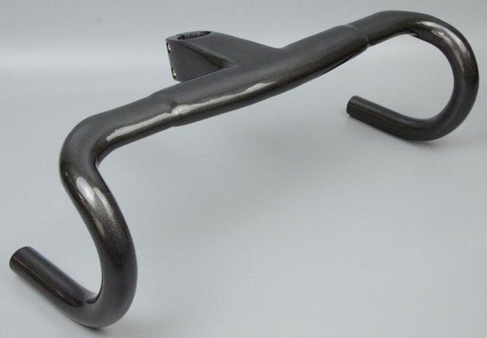 WK-H020 WACAKO正規品 ドロップハンドル クリア ステム一体式 ロードバイク用 カーボンハンドル B07CV96QRY 90mm|400.0 ミリメートル 90mm
