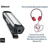 iPhone 7 Adapter, Bluetooth Receiver, Mertlin Bluetooth 3.5mm Receiver, Adapter for iPhone 7 Plus, iPhone 8 Plus, iPhone X, Bluetooth Headphone Adapter, 3.5 mm Headphone Jack Adapter for iPhone 8/X/7