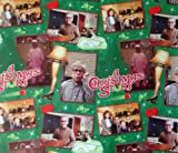 "Movie Scenes from A CHRISTMAS STORY Gift Wrap HOLIDAY CHRISTMAS Wrapping Paper 40"" Wide (40 Square Feet) (GREEN)"