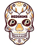 Applied Icon NFL unisex NFL Outdoor Small Dia De Los Muertos Skull Decal