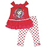 Disney Sofia The First Girl's Polka Dot Top & Leggings (5)