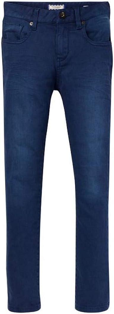 Scotch Soda Pantalones Azules Skinny Fit Talla 14 Anos Amazon Es Ropa Y Accesorios