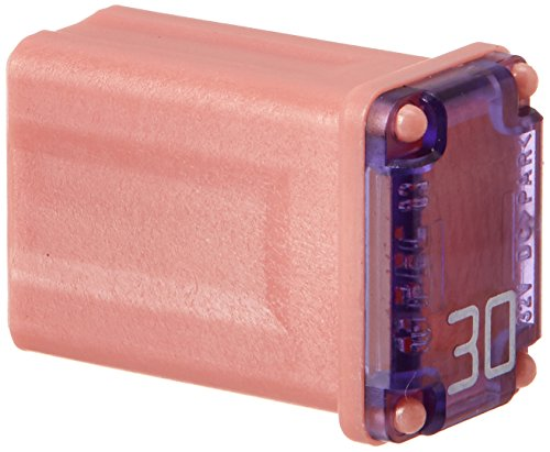 Bussmann FMM-30 MAXI Fuse ('Slow Blow' Micro Female - 30 A (Pink)), 1 Pack