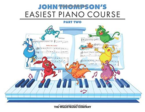 "/""JOHN THOMPSON/'S EASIEST PIANO COURSE/"" PART THREE MUSIC BOOK BRAND NEW ON SALE!!"