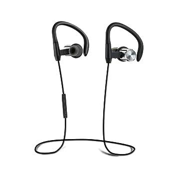 Auriculares Bluetooth Eonfine EH-705M, inalámbricos 4.1 Auriculares ergonómicos, audífonos IPX5 (1