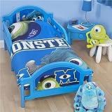 Disney Monsters University Boys Junior Duvet Cover Bedding Set (Junior Bed) (Blue)