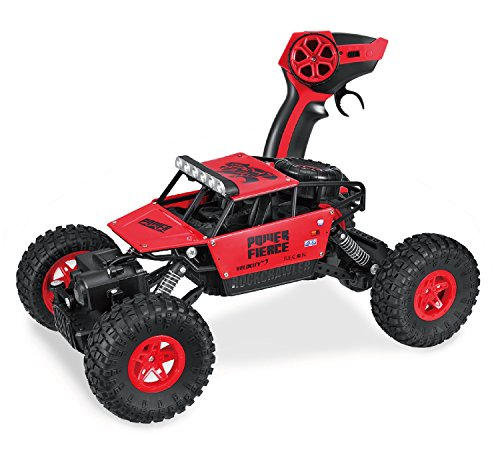 Hi-Tech 4WD 2.4Ghz Remote Control Car Off Road Monster Truck 1:18 Scale High Speed Rock Crawler for Kids and Adult,Present for Boys/Girls (Presents For 5 Year Old Boy)