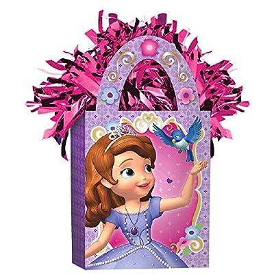 Disney Sofia The First Mini Tote Balloon Weight | Party Decor: Toys & Games
