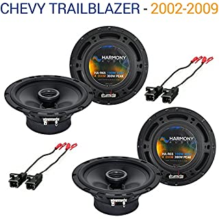 Discount Fits Chevy Trailblazer 2002-2009 Factory Speaker Upgrade Harmony (2) R65 Package New