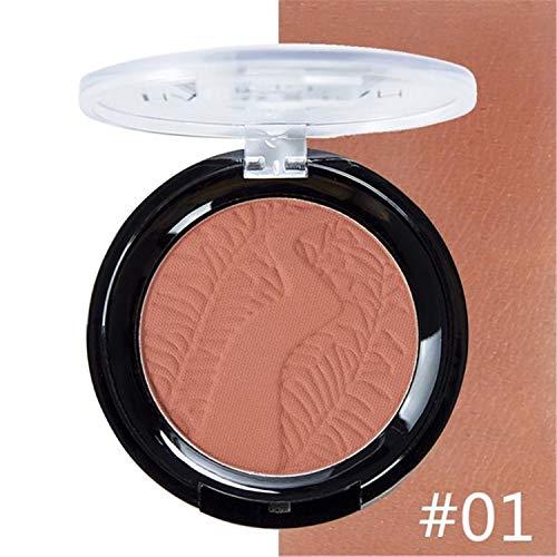 Cheek Natural Pressed Matte Blush Powder Blush Palette 3D Face Contour Highlighter Rouge Blush Powder Face Makeup 6 Colors - Rouge Covers Duvet