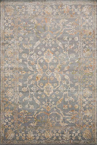 Ivory Rug By 05 (Loloi II SA-05 Transitional Isadora Collection Area Rug, 8'-11