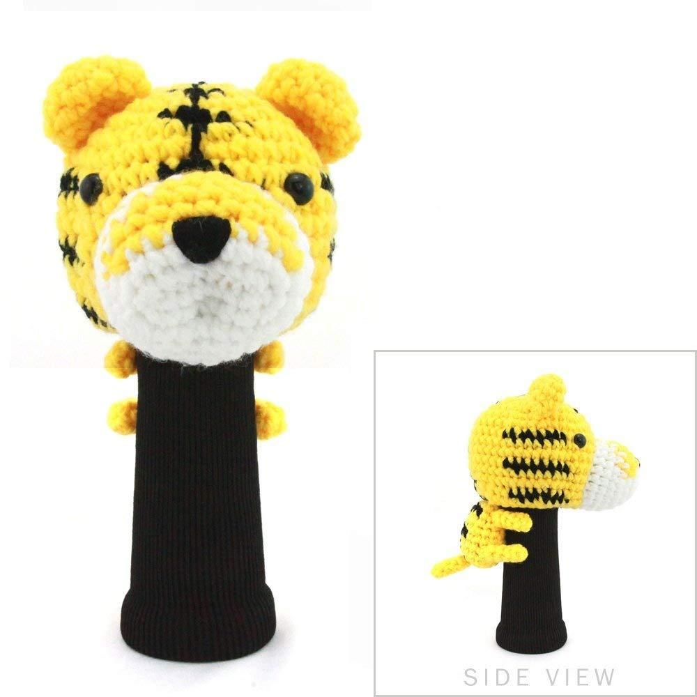 贅沢品 StitchHead Hand Stitched糸動物ドライバ/木製ヘッドカバー B018GYZ2M2 Tiger  Tiger, Digio2ダイレクト 6ee3473c