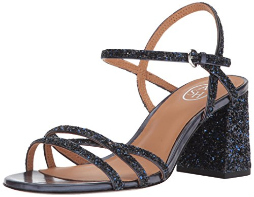 Womens AS Ash Ash Heeled Midnight Sandal Sparkle Womens qSES5t