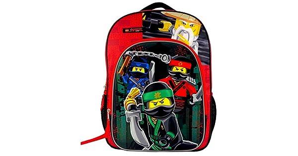 Amazon.com: LEGO Ninjago Película 16 Mochila libro bolsa ...