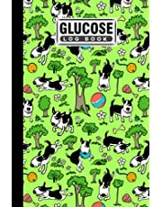 """Glucose Log Book: Blood Sugar Log Book Dog Cover, Weekly Blood Sugar Diary, Daily Diabetic Glucose Tracker Journal Book   120 Pages, Size 6"""" x 9"""" by Herbert Heinrich"""