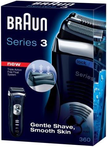 Braun Series 3 360 Afeitadora, Indicador de Carga, Sistema Corte ...