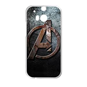 DIY Avengers Age Of Ultron Logo Custom Case Shell Cover for HTC One M8(Laser Technology)