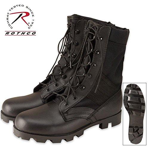- Mens Boots - Jungle GI Type Speedlace, Black, 12W