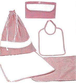 Bolsa para accesorios de bebé de tela aida apta para ...