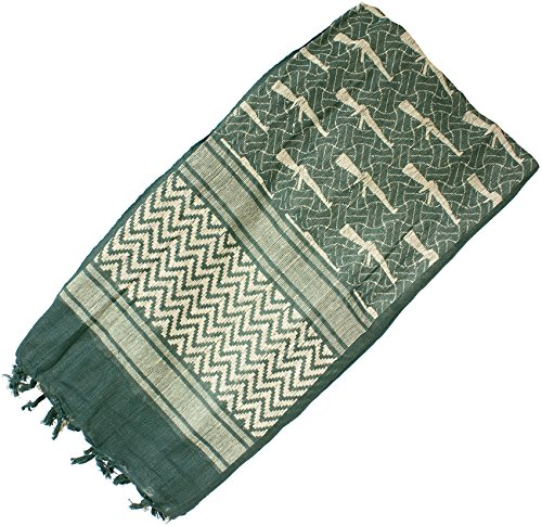 Red Rock Outdoor Gear RED7016-BRK Shemagh Head Wrap M16