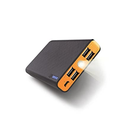 Amazon.com: fritesla 20000 mAh Power Bank Cargador portátil ...