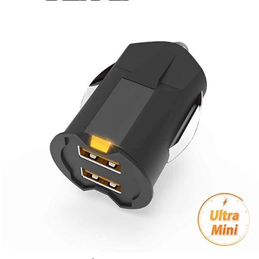 LARDOO Más pequeño Mini USB Adaptador de Cargador de Coche ...