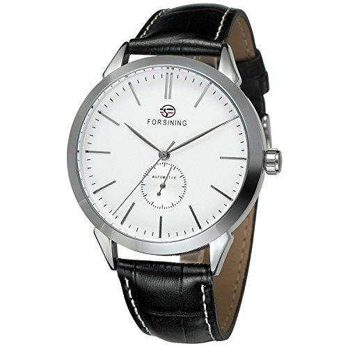 forsining reloj de muñeca analógico automático de Casual Dial Moda Hombre fsg8083 m3s3: Amazon.es: Relojes