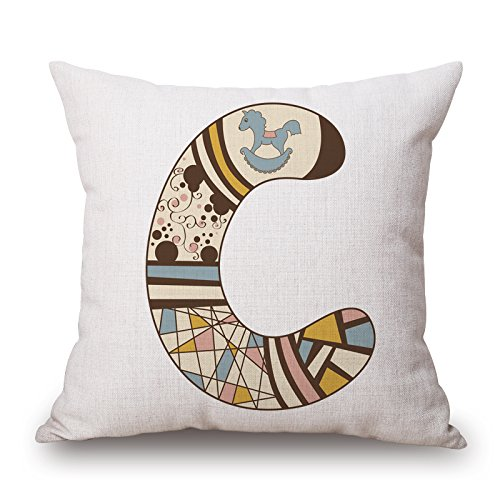 elegancebeauty-the-letter-cushion-covers-of-16-x-16-inches-40-by-40-cm-decorationgift-for-officedinn