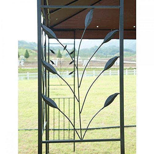FDW 12'X 10' Outdoor Gazebo Steel frame Vented Gazebo w/Netting