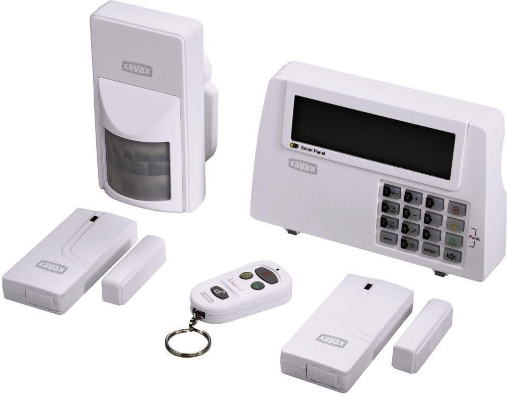 Hama Xavax Funk Alarm Anlage XXL-Set Türsensor Sirene Einbruch Sicherheit System