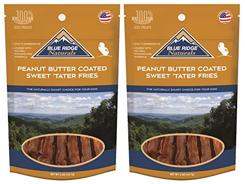 (2 Pack) Blue Ridge Naturals Sweet Tater Fries with Peanut Butter Coating – 5 oz For Sale