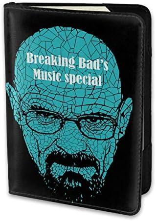 ブレイキング・バッド Breaking Bad パスポートケース メンズ レディース パスポートカバー パスポートバッグ 携帯便利 シンプル ポーチ 5.5インチ PUレザー スキミング防止 安全な海外旅行用 小型 軽便
