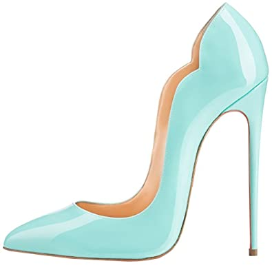 Amazon.com | Comfity Pumps For Women, Sexy Pointed Toe High Heels ...