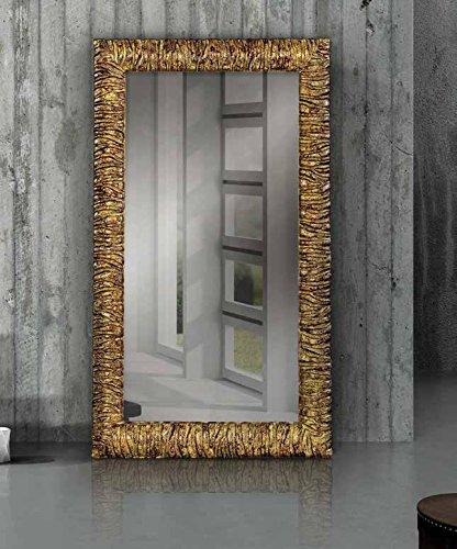 Specchi Moderni Con Cornice.Inhouse Srls Specchio Con Cornice Rettangolare Colore Oro Stile