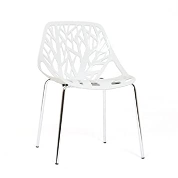 Maison LilyCuisineamp; Design Blanche Chaise Chaise Design 8w0Nnvm