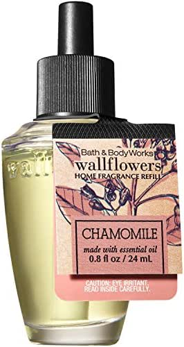 Bath and Body Works Wallflowers Fragrance Refill Made with Essential Oils (Chamomile)