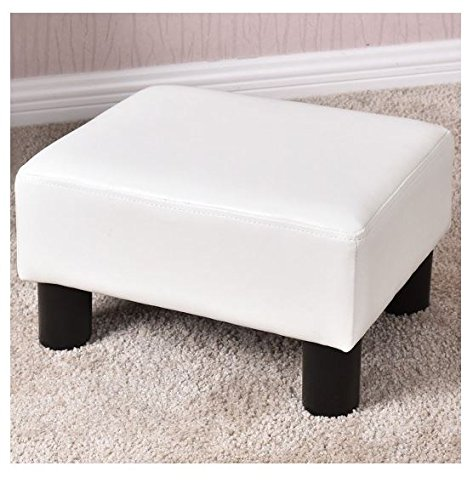 MD Group Kids Sofa Double Size White Color Comfortable Lightweight with Ottoman Home Furniture by MD Group