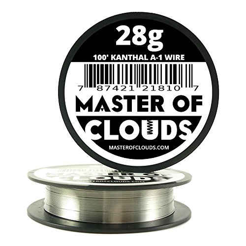 100 ft - 28 Gauge Kanthal A1 Resistance Wire AWG 100' Lengths