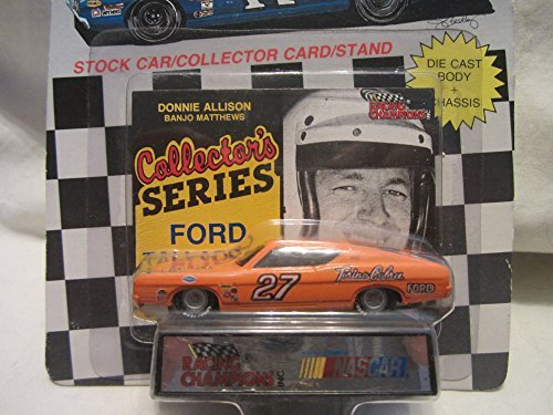 ons Collectors Series #27 Donnie Allison/Banjo Matthews Ford Torino Cobra Stock Car with Collector Card and Stand !!! ()